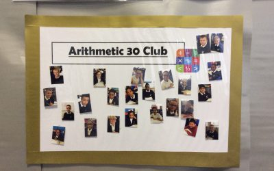 Arithmetic 30 Club!
